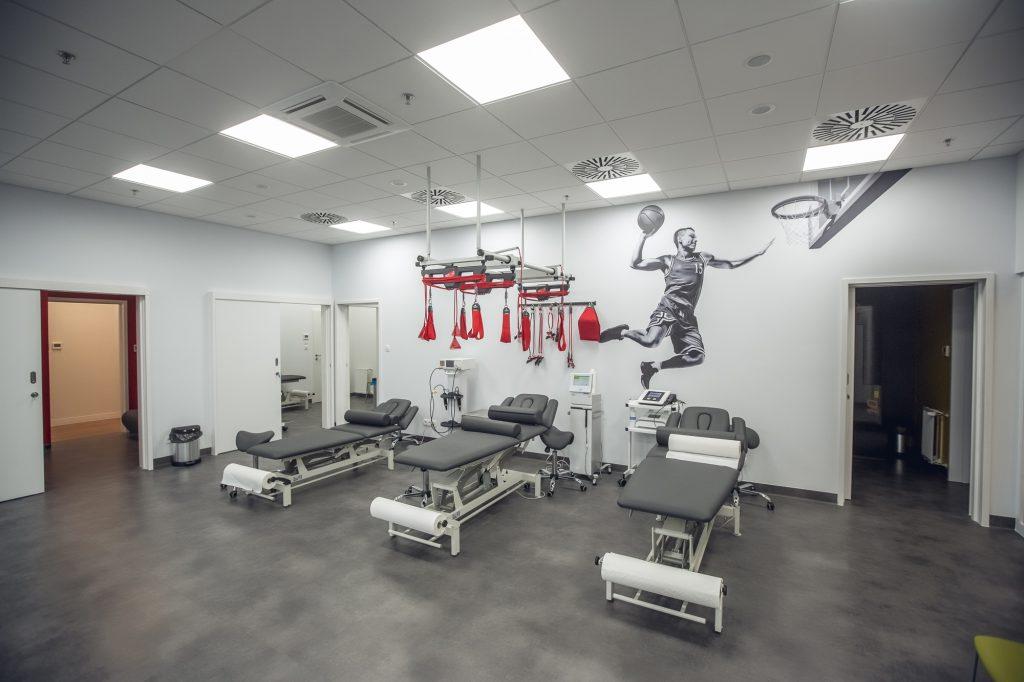 enel-sport galeria młociny -sala rehabilitacyjna