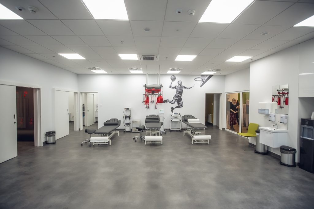 enel-sport galeria młociny - sala rehabilitacyjna