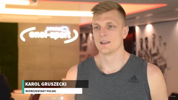 Karol Gruszecki przed startem MŚ w koszykówce