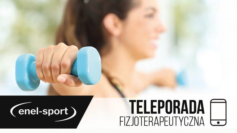Teleporada fizjoterapeutyczna w enel-sport